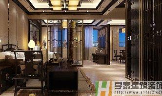 中式风格宾馆客房装修设计