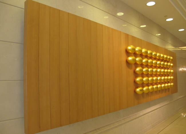 办公室前台背景墙装修设计