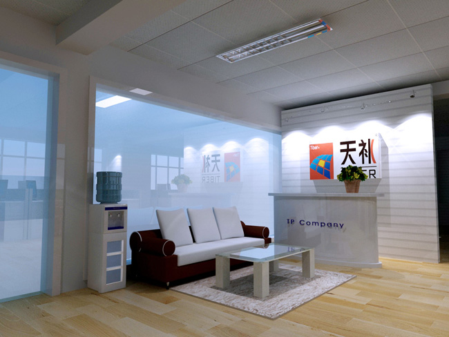 办公室前台装修设计之柜台设计