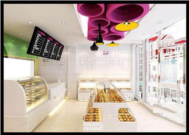 蛋糕店装修设计效果图