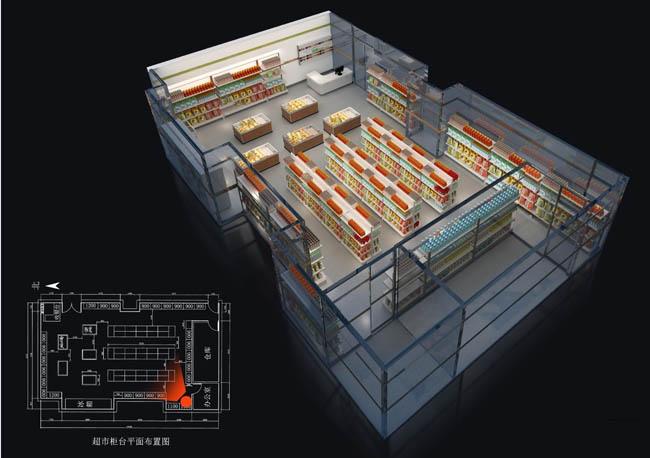 重庆合川便利店装修设计应该注意哪些