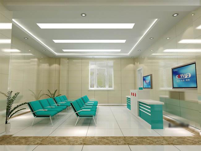 医院装修设计效果图高清图片