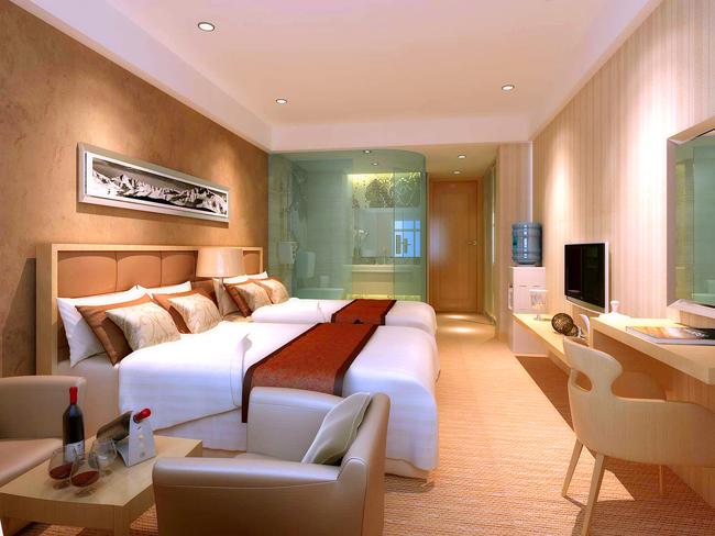 合肥宾馆装修设计中 各种材料的运用