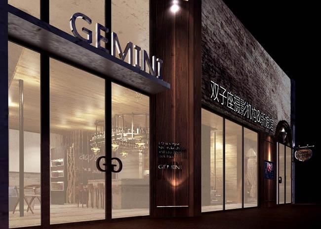 一,背景墙的设计需要和店面的整体色调相呼应,店面一定要充满温馨浪漫
