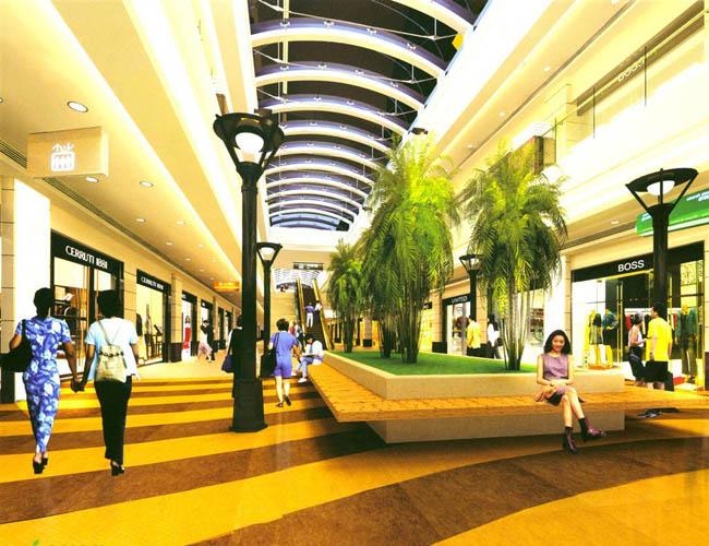 商场装修设计 利用空间准确布局