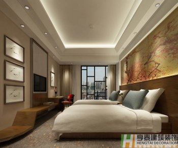 合肥市蜀山区某时尚酒店装修设计