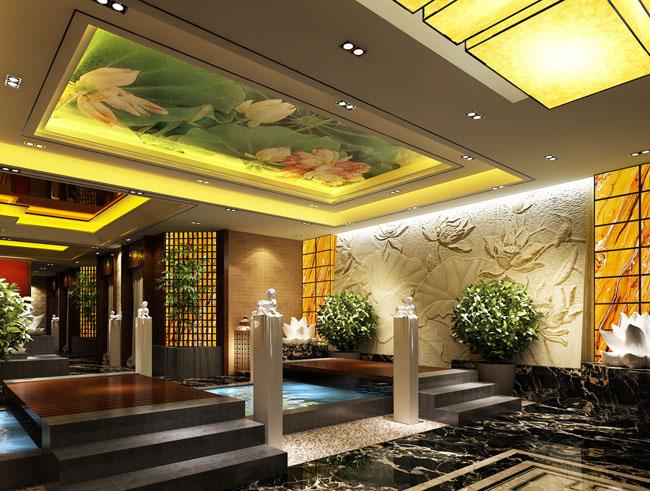 合肥中式茶楼装修设计图片