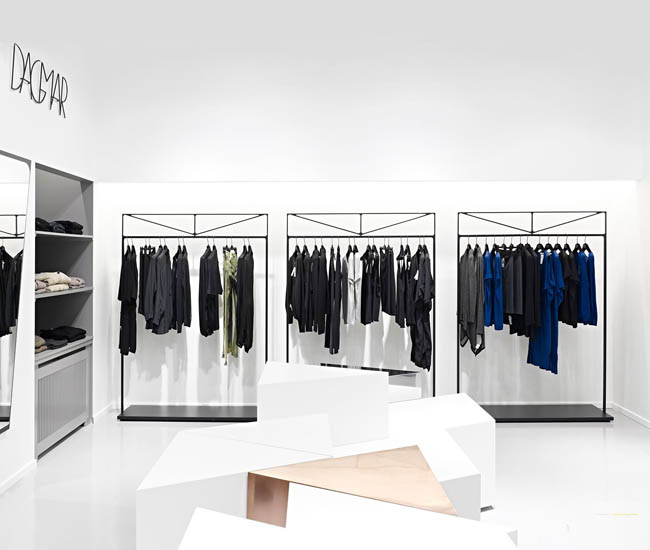 安徽服装店装修设计空间如何布局