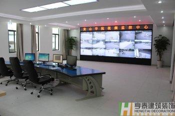 黄山学院校园监控中心(已完工)