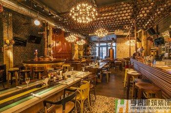 美式风格BIUTIFUL酒吧装修设计