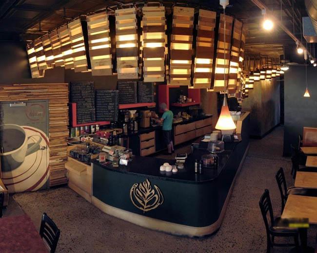 亨泰装饰      咖啡店是每个城市不可或缺的一道风景,咖啡店的存在不