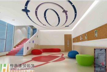 社区精品幼儿园装修设计