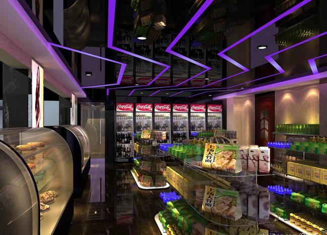 超市装修设计 客户流动性与空间合理布局