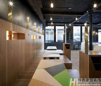 商城快餐店装修设计施工