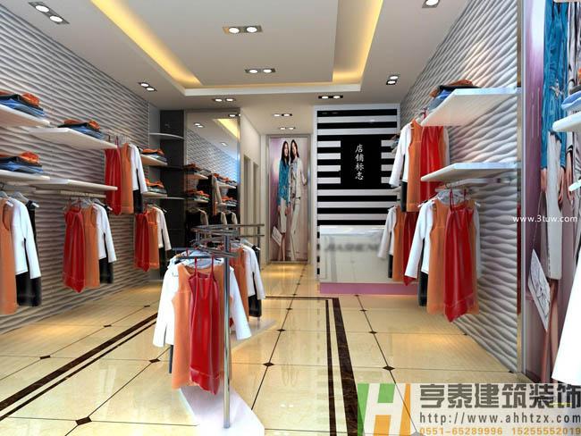 安徽服装店装修 怎么利用天时地利人和