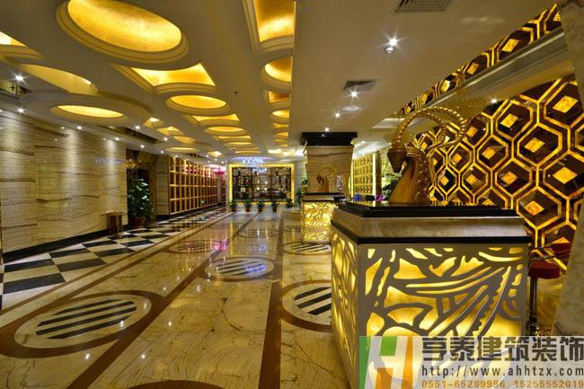 安徽KTV大厅装修设计效果图
